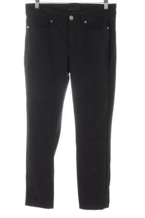 Cambio Pantalon strech noir style d'affaires