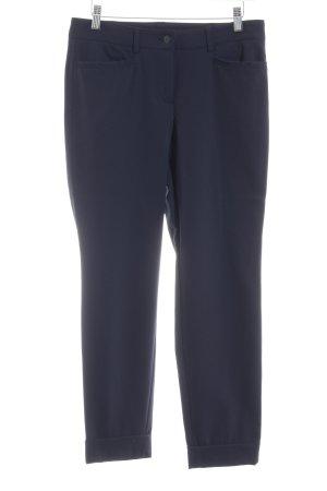 Cambio Stretchhose dunkelblau Business-Look