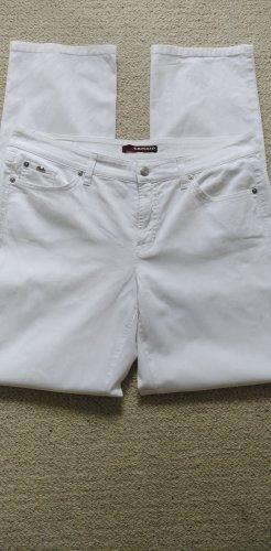 Cambio * Tolle Jeans Norah super slim * weiß Strass Glitzer * 44/L32