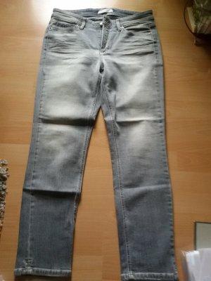 Cambio Pantalon cinq poches gris clair-gris
