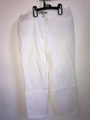 Cambio Jeans Lage taille broek wit