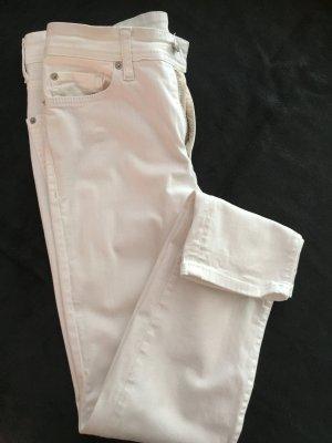 Cambio Stretch Jeans white