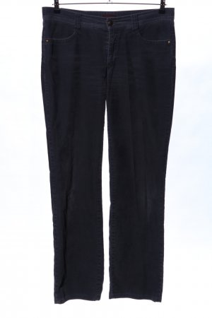 Cambio Corduroy Trousers black casual look