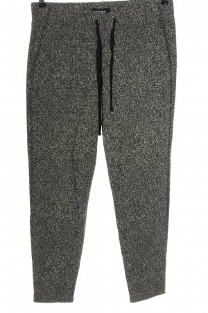 Cambio Woolen Trousers natural white-black flecked casual look