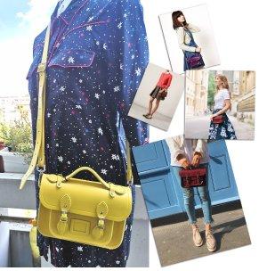 Cambridge Satchel Company Magnetic Mini Satchel Lemon Yellow NP 170 €!!!