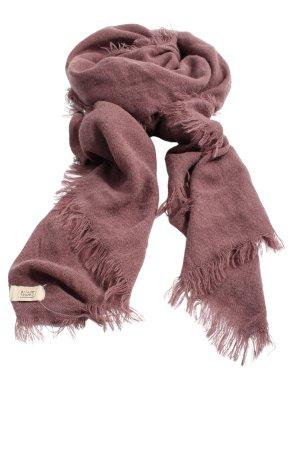 Camel Active Écharpe à franges rose style décontracté