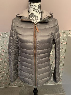 Camel Active Quilted Jacket grey-silver-colored