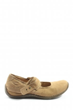 Camel Active Mary Jane Schoenen wolwit casual uitstraling