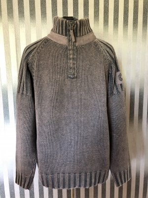 Camel Active Knitted Sweater grey brown