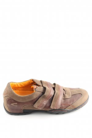 Camel Active Slip-on Shoes brown-natural white casual look