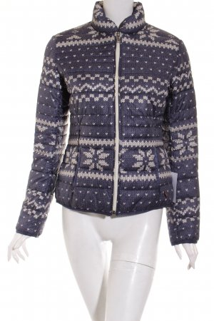 Camel Active Quilted Jacket dark blue-cream athletic style