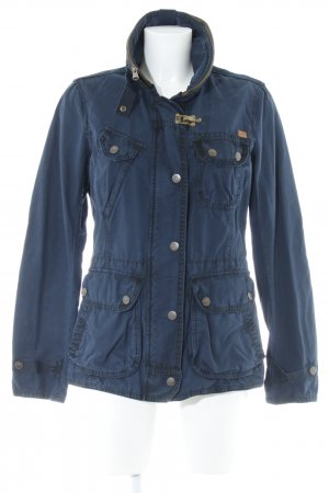 Camel Active Between-Seasons Jacket dark blue-bronze-colored casual look