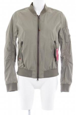 Camel Active Between-Seasons Jacket green grey casual look