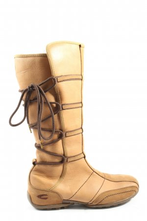 Camel Active Wide Calf Boots nude extravagant style