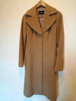 Armani Cappotto in lana color cammello-beige Lana