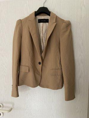 Camel Zara Basic Blazer