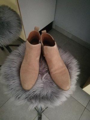camelbraune Boots Gr. 40
