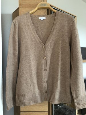 Brookshire Knitted Cardigan camel