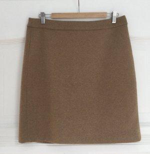 Esprit Wełniana spódnica beżowy-jasnobrązowy