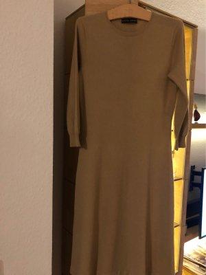 Ralph Lauren Vestido tejido camel
