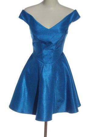 Cameo Mini Dress blue elegant