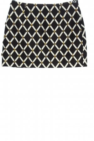 Cameo Miniskirt black-white abstract pattern casual look