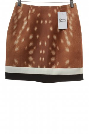 Cameo Miniskirt multicolored extravagant style