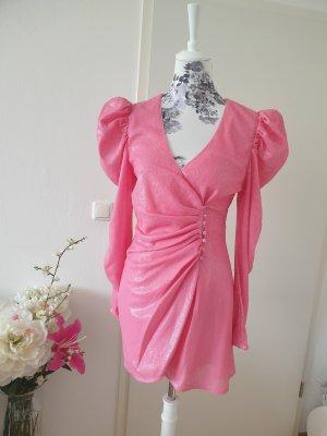 Cameo Robe à paillettes rose