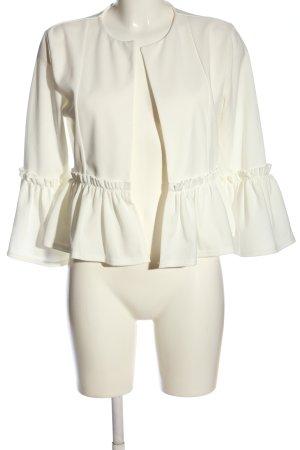 CAMEO ROSE Kurz-Blazer weiß Elegant