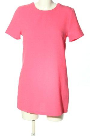 CAMEO ROSE Jurk met korte mouwen roze casual uitstraling