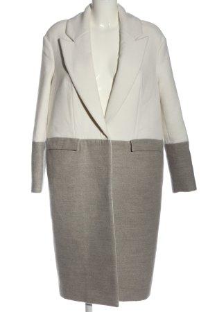 Cameo Cappotto mezza stagione grigio chiaro-bianco puntinato stile casual