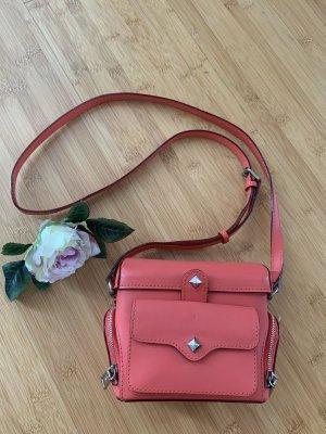 Rebecca Minkoff Sac Baril rose cuir