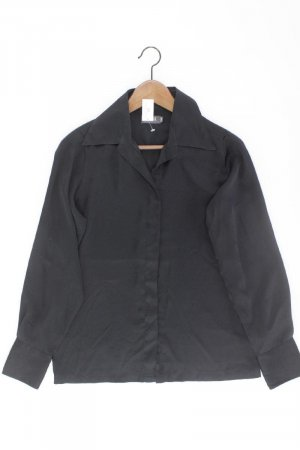 Camera Blouse met lange mouwen zwart Polyester