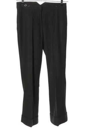 Camera Pantalone jersey nero-bianco stampa integrale stile casual