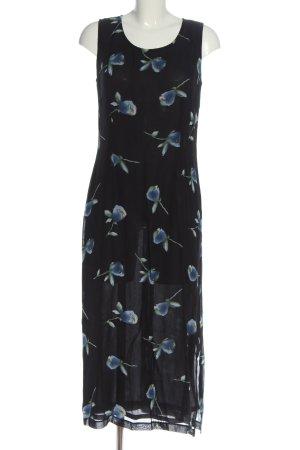Camera Maxi-jurk bloemenprint casual uitstraling