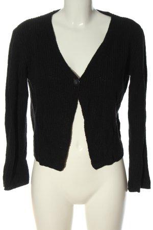 Camera Cardigan in maglia nero stile casual