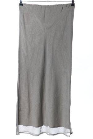 Camera Sottogonna grigio chiaro stile casual