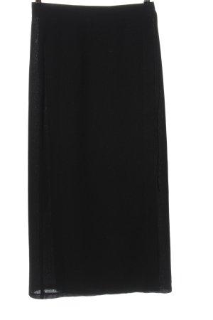 Camera Falda cruzada negro look casual