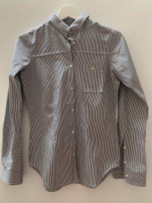 Golden Goose Camicia a maniche lunghe bianco-antracite