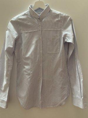Golden Goose Camicia a maniche lunghe bianco-azzurro