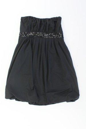 Sukienka z dekoltem typu bandeau czarny Poliester