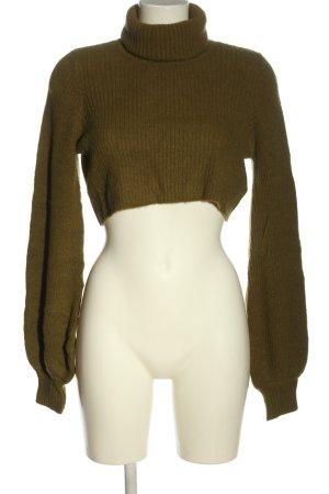 camila coelho Cropped Pullover khaki Casual-Look
