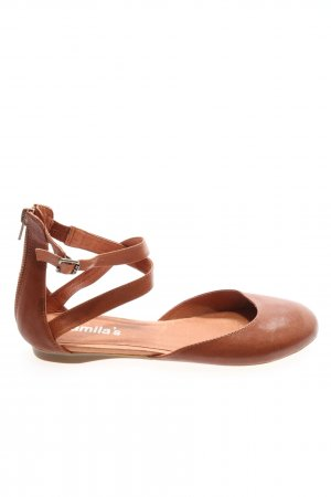 Camila's Romeinse sandalen bruin casual uitstraling