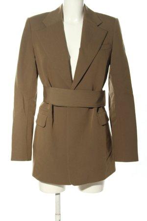 CAMILLA AND MARC Long-Blazer braun Business-Look