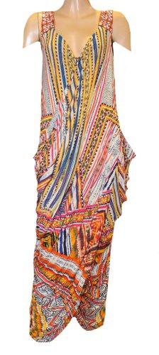Camilla Caftan multicolored modal fibre