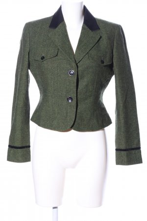 Camilla Short Blazer khaki-black flecked business style