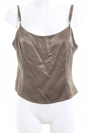 Camisole bruin casual uitstraling