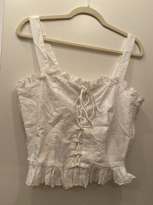 H&M Camisoles white