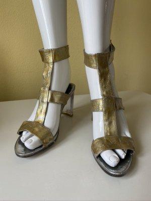 Cammina Italy Vintage Metallic Sandaletten Gr. 38