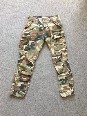H&M L.O.G.G. Cargo Pants multicolored
